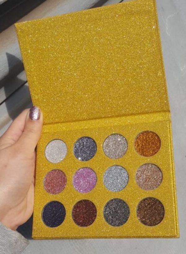 paleta farduri gold
