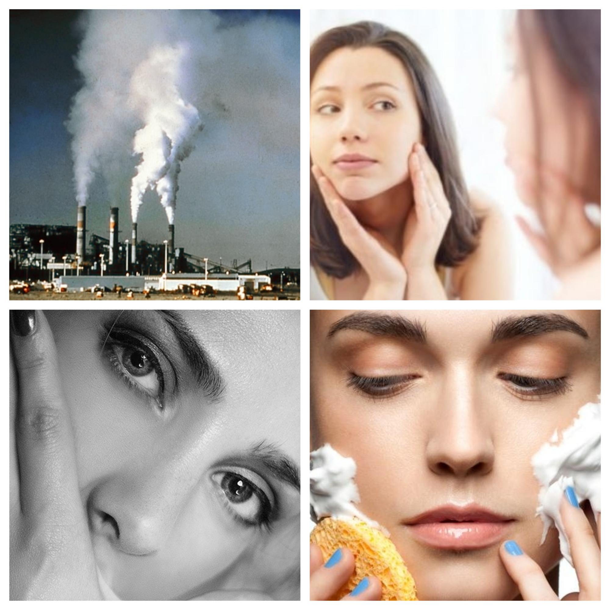 cum ne ferim pielea de poluar