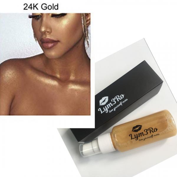 iluminator spray 24k gold