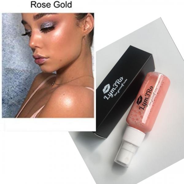iluminator spray rose gold