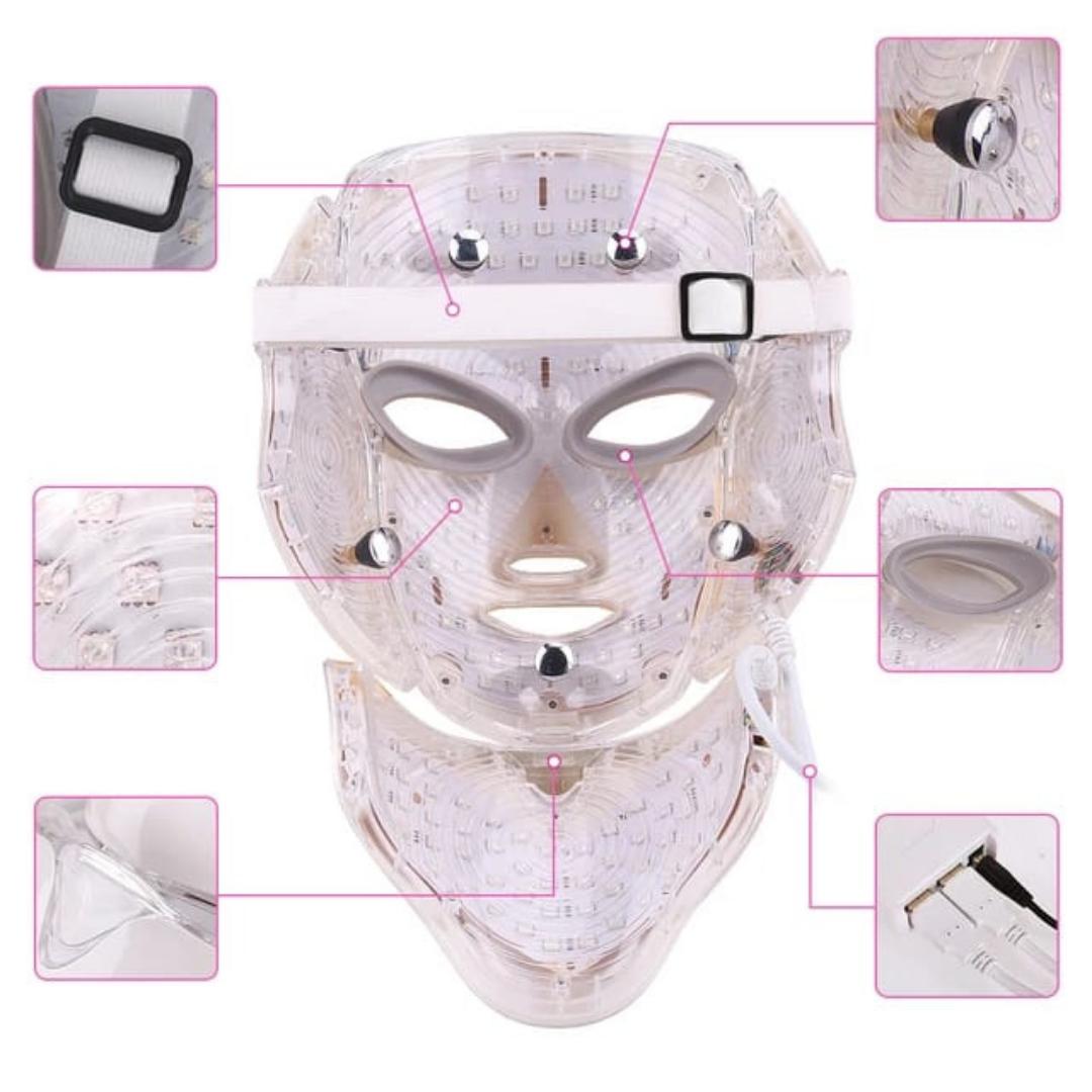 masca led antiaging